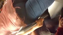 culito de chavita en el metro 1